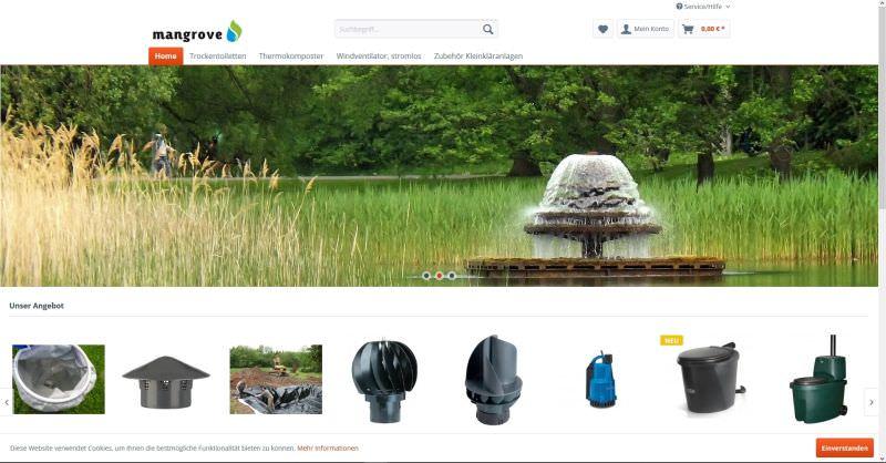 Webdesign Kleve TJWeb | Mangrove ökologisch & stromsparend