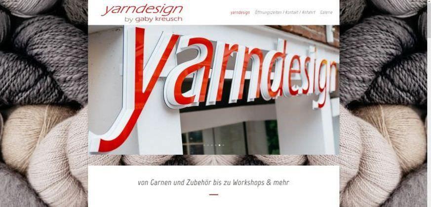 Webdesign Kleve TJWeb | Yarndesign Kleve, Garne, Wolle