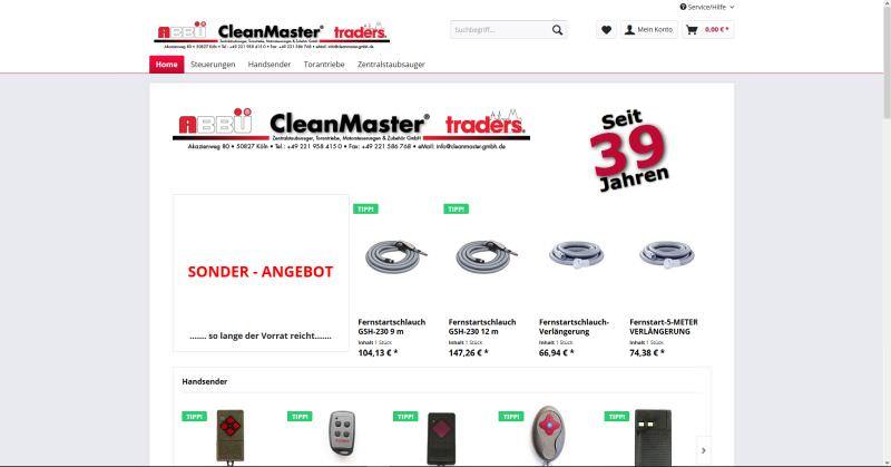 Webdesign Kleve TJWeb | Cleanmaster Gmbh